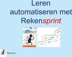 Leren automatiseren met. Rekensprint. Rekensprint - PDF