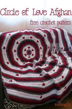 Circle of Love Afghan - Free Crochet Pattern