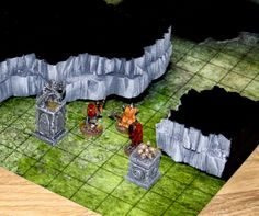 Black Fangs Cave: Easy 3D Dungeon Walls