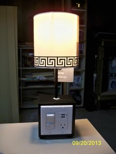 DIY USB charger lamp