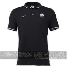 Venta de Camisetas polo negro AS Roma 2015-16