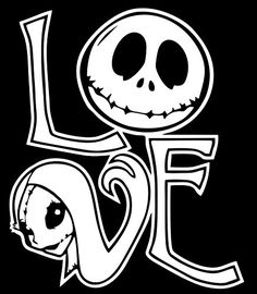Download Nightmare before Christmas svg, jack and sally love,Jack ...