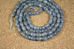 Purple Tanzanite Oval Beads  Smooth Oval Beads 15.5 by ABOSBeads, $27.99