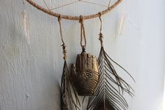 OM Dreamcatcher & Positive Energy Emanation Creation by ElvenWay on Etsy- Peace for the Hom, Om creation, Hands of Light