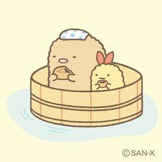 sumikko gurashi bath time