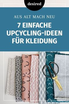 7 einfache Upcycling-Ideen für Kleidung With upcycling you can help your old clothes to a second life. We have 7 simple DIY ideas to do by yourself. T-shirt Refashion, Tetra Pack, Knit Baby Dress, Old Clothes, Diy Crafts To Sell, Baby Knitting, Diy Fashion, Easy Diy, Simple Diy