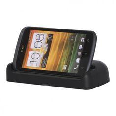 HTC One S Dockningsstation Med USB-kabel (Svart)