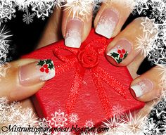 holly berry and snow mani