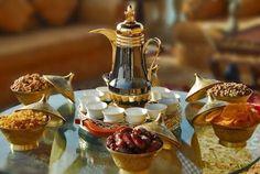 Gahwa, Arabic coffee, dates