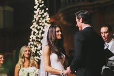 Photography: Benj Haisch  Read More: http://www.stylemepretty.com/2013/12/24/urban-seattle-holiday-wedding/
