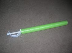 The Crafty Blog Stalker: What Can You Make with a Pool Noodle?  - Could cover my wooden swords for safety.