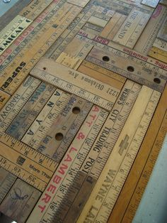 still saving rulers and yard sticks for something like this!