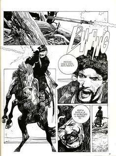 """Sergio Toppi """"Kas-Cej"""" - Corto Maltese anno II n.11 novembre 1984, Milano Libri"""
