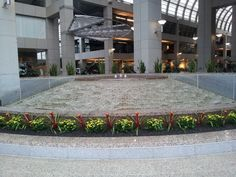 My favorite place in the whole wide world - The central atrium of The Colonnade - a skyscraper in Addison, Texas (a northern Dallas suburb).