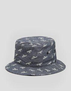 The Hundreds Slant Over Bucket Hat - Blue