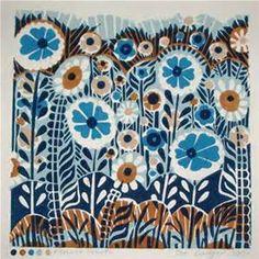 Linocut Flowers - Bing images