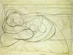 Pablo Picasso, Femme nue couchée, 1932