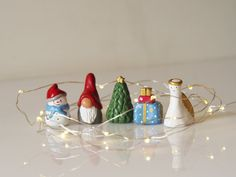 Christmas miniatures - Mini Christmas ornaments