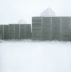 Shelters for Roman Archaeological Site_Peter Zumthor