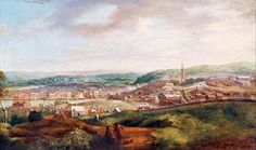 View of Cork by John Butts, 18th century. Crawford Gallery, Public Domain