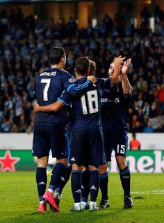 Cristiano Ronaldo & Lucas Vazquez Real Madrid