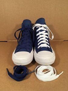 Converse Chuck Taylor All Star II Hi Top Sneaker Blue Women s 6  4b0cc4756