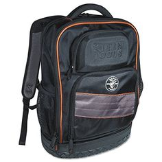 Backpack, Electrician Tool Bag, Tradesman Pro Organizer, 25 Pockets, Laptop Compartment Klein Tools ** Continue to the product at the image link. (This is an affiliate link) Tool Backpack, Laptop Backpack, Black Backpack, Backpack Bags, Hvac Tool Bags, Electrician Tool Bag, Backpack Organization, Room Organization