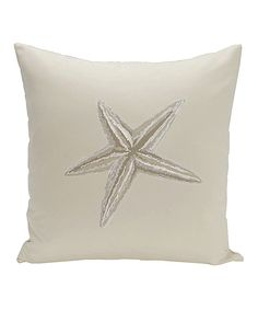 Look at this Taupe Starfish Throw Pillow on #zulily today!