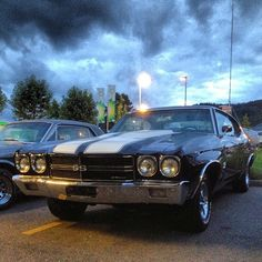Chevrolet Chevelle, 1970. American muscles