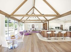 open plan living kitchen ideas for large grade 2 listed - Google Search