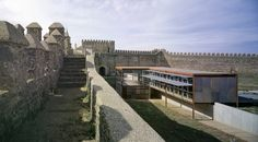 Built by Republica DM in Cumbres Mayores, Spain with surface Images by Jesús Granada. The Castillo de Cumbres Mayores can respond to needs, although military, also complementary and even different to t. Granada, Adaptive Reuse, Clever Design, Seville, Interior Architecture, Interior Design, Restoration, Spain, Military