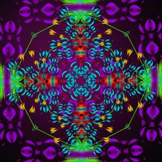 regards !! miradas !!! gaze !!! aparência !!! Mandala de Pierre Vermersch Digital Drawings
