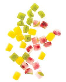 """Make these flavored ice cubes and serve them in drinks, and you'll have your guests saying """"wow."""""""