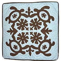 Hawaiian Quilt Pillows