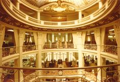 The City of Paris, San Francisco, CA - The store's final and best-known location was a Beaux-Arts building designed by architect Clinton Day, built in 1896 on the corner of Geary and Stockton streets across from Union Square.