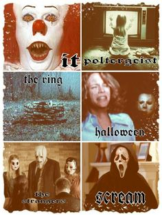 My Favorite Scary Movies