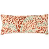 Pine Cone Hill Toadstool Russet Double Boudoir Pillow PCHDPTSRDB