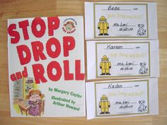stop drop and roll book and award