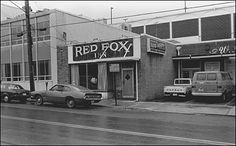 """A bar in downtown Bethesda (often referred to now as """"Old Bethesda"""").  Every block looked like this one."""