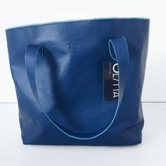 ✴ Beautiful  things dont ask for attention ✴ olitta.studio handmade shopper bag.