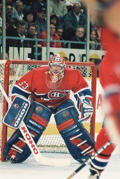 Goalie Gear, Goalie Mask, Hockey Goalie, Montreal Canadiens, Mtl Canadiens, Ice Hockey Teams, Blackhawks Hockey, Hockey Stuff, Patrick Roy