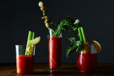 The Best Way to Garnish a Bloody Mary: a crown for the queen of brunch.