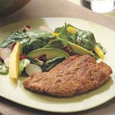 Pecan-Crusted Chicken - EatingWell.com