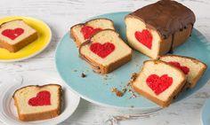 Rührkuchen mit Herz / Patch cake