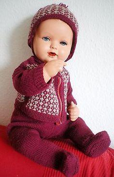 4 of 10: Wunderschöne alte Schildkröt Strampelchen Baby Puppe, old german doll