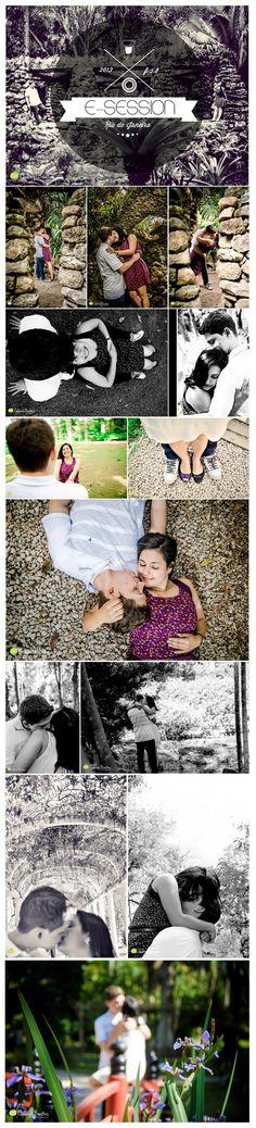E-session the couple Viviane and Vinicius in the Botanical Garden in Rio de Janeiro Brazil #wedding #RioDeJaneiro #Casamento #Couple #photography #esession #prewedding