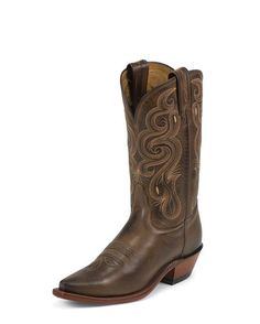 ive been searching hi and lo for cowgirl boots like these Tony Lama's... i can just smell that leather now ;)