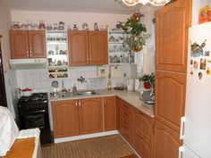 Kuchyňa jelša sektor Jelsa, Kitchen Cabinets, Home Decor, Decoration Home, Room Decor, Cabinets, Home Interior Design, Elsa, Dressers