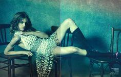 ☆ Natalia Vodianova | Photography by Peter Lindbergh | For Vogue Magazine China | May 2010 ☆ #nataliavodianova #peterlindbergh #vogue #2010