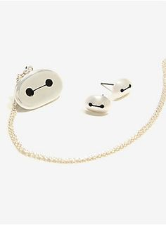 """Take your personal healthcare companion wherever you go, by wearing him as this adorable sterling silver plated earring and necklace set.<br><ul><li style=""""LIST-STYLE-POSITION: outside !important; LIST-STYLE-TYPE: disc !important""""> 8 1/4"""" chain without extender; 4"""" extender</li><li style=""""LIST-STYLE-POSITION: outside !important; LIST-STYLE-TYPE: disc !important""""> Sterling silver plated</li><li style=""""LIST-STYLE-POSITION: outside !important; LIS..."""
